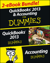 QuickBooks 2013 & Accounting For Dummies eBook Set (1118602900) cover image