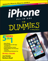 iPhone All-in-One For Dummies, 3rd Edition (1118727800) cover image