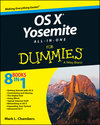 OS X Yosemite All-in-One For Dummies (1118990900) cover image