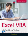 Excel VBA 24-Hour Trainer, 2nd Edition (1118991400) cover image