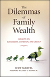 The Dilemmas of Family Wealth: Insights on Succession, Cohesion, and Legacy (1576601900) cover image