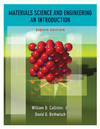 Materials Science and Engineering: An Introduction, 8th Edition (EHEP000300) cover image