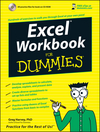 Excel Workbook For Dummies (0470044101) cover image