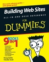Building Web Sites All-in-One Desk Reference For Dummies (0470127201) cover image