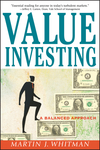 Value Investing: A Balanced Approach  (0471398101) cover image