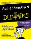 Paint Shop Pro 9 For Dummies (0764595601) cover image