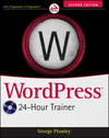 WordPress 24-Hour Trainer, 2nd Edition (1118066901) cover image