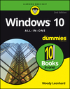 Windows 10 All-In-One For Dummies, 2nd Edition (1119310601) cover image