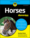 Horses For Dummies, 3rd Edition (1119589401) cover image