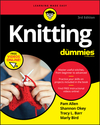 Knitting For Dummies, 3rd Edition (1119643201) cover image