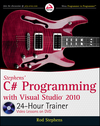 Stephens' C# Programming with Visual Studio 2010 24-Hour Trainer (0470596902) cover image