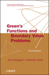 Green's Functions and Boundary Value Problems, 3rd Edition (0470609702) cover image