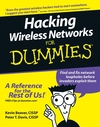 Hacking Wireless Networks For Dummies (0764597302) cover image