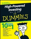 High-Powered Investing All-In-One For Dummies (1118052102) cover image
