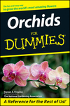 Orchids For Dummies (1118054202) cover image