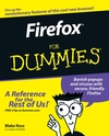 Firefox For Dummies (1118084802) cover image