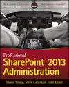 Professional SharePoint 2013 Administration (1118495802) cover image