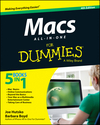 Macs All-in-One For Dummies, 4th Edition (1118822102) cover image