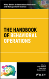 thumbnail image: The Handbook of Behavioral Operations