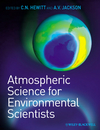 Atmospheric Science for Environmental Scientists (1405156902) cover image
