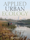 Applied Urban Ecology: A Global Framework (1444333402) cover image