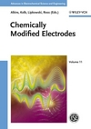Chemically Modified Electrodes, Volume 11 (3527314202) cover image