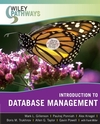 Wiley Pathways Introduction to Database Management (EHEP000102) cover image