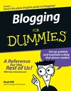 Blogging For Dummies (0470007303) cover image