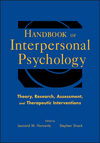Handbook of Interpersonal Psychology: Theory, Research, Assessment, and Therapeutic Interventions (0470471603) cover image