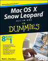 Mac OS X Snow Leopard All-in-One For Dummies (0470552603) cover image