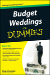 Budget Weddings For Dummies (0470567503) cover image