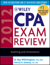 Wiley CPA Exam Review 2012, Auditing and Attestation (0470923903) cover image