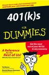 401(k)s For Dummies (1118069803) cover image