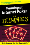 Winning at Internet Poker For Dummies (1118070003) cover image