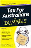 Tax for Australians For Dummies, 3rd Edition (1118222903) cover image