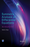 thumbnail image: Symmetry Analysis of Differential Equations: An Introduction