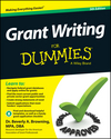 Grant Writing For Dummies, 5th Edition (1118856503) cover image