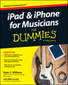 iPad and iPhone For Musicians For Dummies (1118991303) cover image