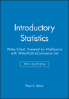 Introductory Statistics, 9e Wiley E-Text: Powered by VitalSource with WileyPLUS eCommerce Set (1119368103) cover image