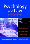 Psychology and Law: Truthfulness, Accuracy and Credibility, 2nd Edition (0470850604) cover image