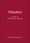Valuation, Chapter 14: Multibusiness Valuation (0471408204) cover image