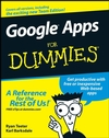 Google Apps For Dummies (1118052404) cover image