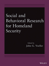 Social and Behavioral Research for Homeland Security (1118651804) cover image