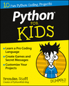 Python For Kids For Dummies (1119093104) cover image