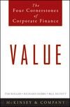 Value: The Four Cornerstones of Corporate Finance (0470424605) cover image