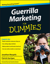Guerrilla Marketing For Dummies (0470457805) cover image