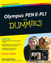 Olympus PEN E-PL1 For Dummies (0470879505) cover image