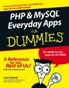 PHP & MySQL Everyday Apps For Dummies (0471753505) cover image