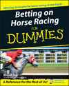 Betting on Horse Racing For Dummies (0764578405) cover image
