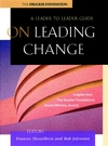 On Leading Change: A Leader to Leader Guide (0787960705) cover image